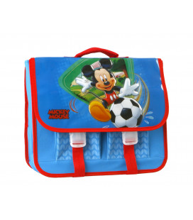 CARTERA ESCOLAR MICKEY MOUSE FUTBOL