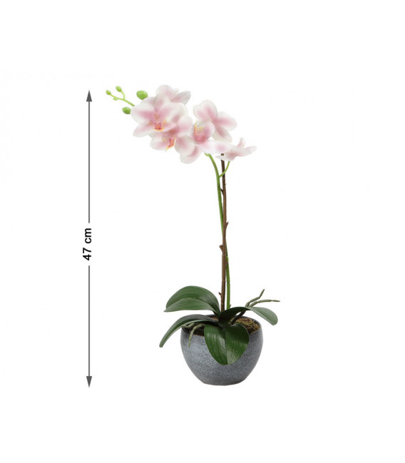 FLOR ARTIFICIAL ROSA COLOR BLANCO UNIDAD 5 CM