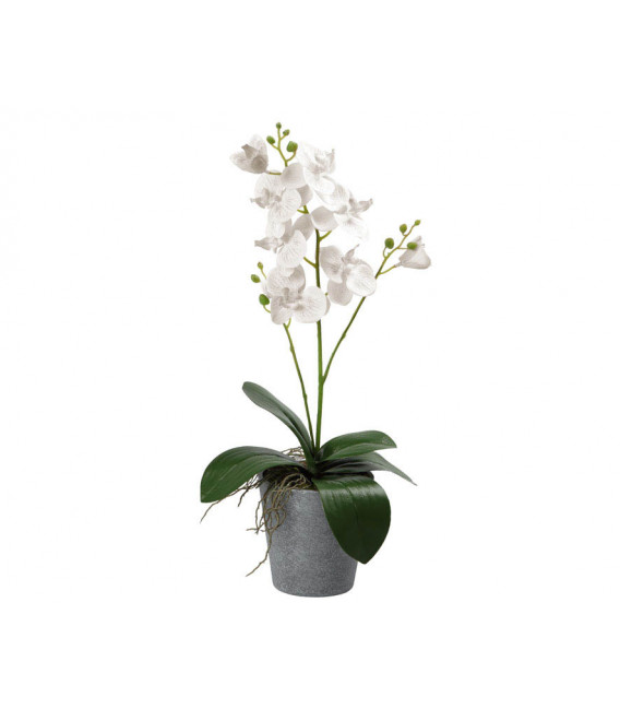 FLOR ARTIFICIAL ROSA COLOR ROJO UNIDAD LARGO 30 CM