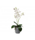 RAMA ARTIFICIAL CON 3 ROSAS COLOR ROJO 38 CMS LARGO