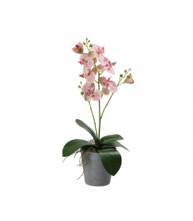 FLOR ARTIFICIAL ROSA COLOR AMARILLO UNIDAD LARGO 30 CM