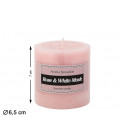 FLOR ARTIFICIAL ROSA COLOR CEREZA UNIDAD 8 CM