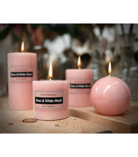 FLOR ARTIFICIAL ROSA COLOR ROSA UNIDAD 8 CM L 50 CM
