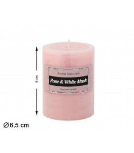 FLOR ARTIFICIAL TULIPÁN COLOR AMARILLO DE 59 CM