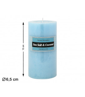 MACETERO CON FLOR ARTIFICIAL ORQUIDEA COLOR BLANCO DE 47 CM