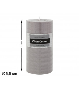 MACETERO CON FLOR ARTIFICIAL ORQUIDEA COLOR ROSA DE 52 CM