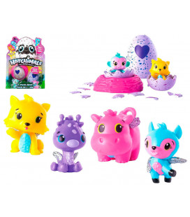 HATCHIMALS COLECCIONABLE 2 FIGURAS SORPRESAS