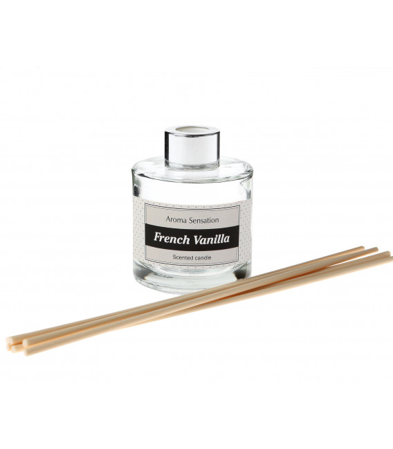 DIFUSOR STICKS 100 ML AROMA ROSA Y WHITE MUSK