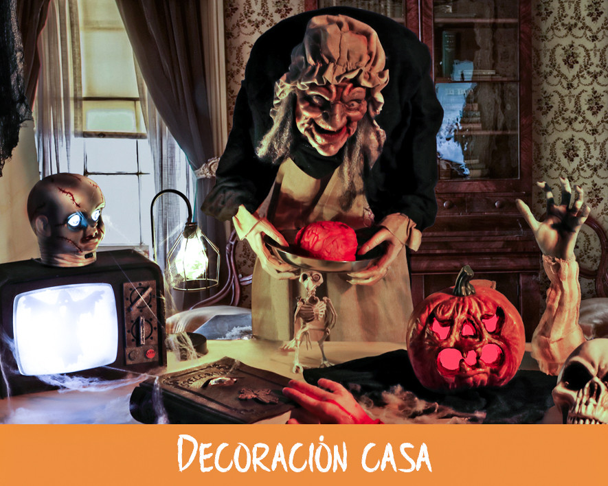 DECORACIÓN HALLOWEEN EN CASA